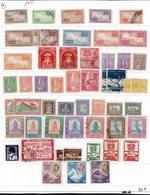 Népal - 1949-95 - Collection Sur 13 Pages Neufs - X - (X) - Oblitérés - A Classer - B/TB - - Népal