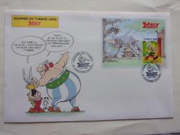BD FDC Astérix Obélix Bloc Enveloppe Grand Format  1999 - Bandes Dessinées
