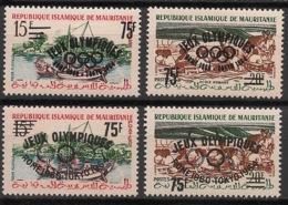 Mauritanie - 1962 - N°Yv. 154A à 154D - Olympics / Tokyo 64 - Neuf Luxe ** / MNH / Postfrisch - Mauretanien (1960-...)
