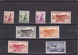 Camerun Nº A22 Al A29 - Cameroun (1915-1959)