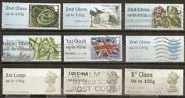 Grande-Bretagne Great Britain Post & Go Stamps Obl - Post & Go Stamps