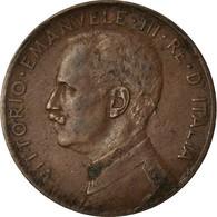 Monnaie, Italie, Vittorio Emanuele III, 2 Centesimi, 1914, Rome, TTB, Bronze - 1900-1946 : Victor Emmanuel III & Umberto II