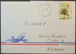Congo - Cover To France 2007 Medicinal Plant 360F Solo - FDC