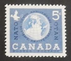 CANADA YT 311 NEUF**MNH ANNÉE 1959 - 1952-.... Règne D'Elizabeth II
