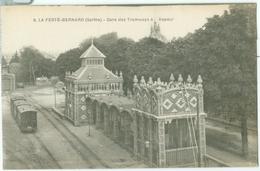 La Ferté-Bernard; Gare Des Tramways à Vapeur - Non Voyagé. (A. Dolbeau - Le Mans) - La Ferte Bernard