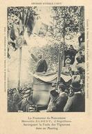 REVOLTE DES VIGNERONS - 1907 - LE PROMOTEUR DU MOUVEMENT Marcelin ALBERT D' ARGEVILLIERS Dans Un MEETING (34 - HERAULT) - Manifestazioni