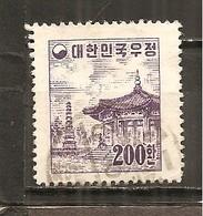 Corea Del Sur Nº Yvert  163 (usado) (o) - Korea (Süd-)