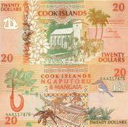 COOK ISLANDS 20 Dollars ND (1992) P 9 UNC - Cook Islands