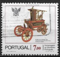 Portugal – 1981 Firemen 7.00 Used Stamp - 1910-... République