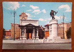ROMA Piazza Porta Pia Monumento Bersagliere Cartolina  Viaggiata - Places & Squares