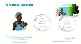 Libreville 1979 - FDC Journées Médicales - Médecine - Gabun (1960-...)