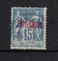 Port- Lagos _ (1893 ) Surcharge Rouge N° 3 - Usados