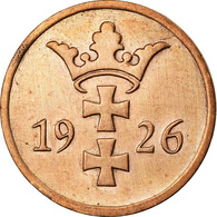 Monnaie, DANZIG, 2 Pfennig, 1926, TTB, Bronze, KM:141 - Polen