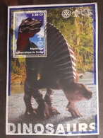 Congo 2002 Animals Prehistorics Dinosaurs BF  Mnh - Erinnophilie