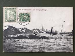 SPITZBERG -pêche à La Baleine - Norvège