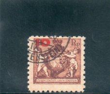 LIECHTENSTEIN 1924 O DENT 9.5 - Gebraucht