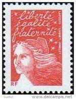France Marianne Du 14 Juillet N° 3417 B ** Luquet Le TVP Rouge Sans Bande De Phosphore - 1997-04 Marianne Du 14 Juillet