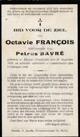 Rijsel, Lille, Landskouter, 1928, Octavie François, Bavré - Images Religieuses