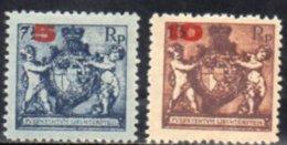 LIECHTENSTEIN 1924 * DENT 12.5 - Ungebraucht