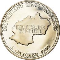 Allemagne, Médaille, Deutschland Einig Vaterland, Deutsche Einheit, 1990, SPL - Altri
