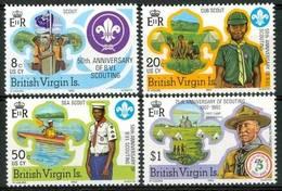 British Virgin Islands 1982 Scouting Mi.440-443 MNH M.020 - British Virgin Islands