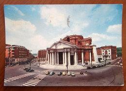 ROMA Piazza Euclide Chiesa Cuore Immacolato Maria - Auto Cars Cartolina 1962 Viaggiata - Places & Squares