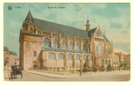 A1947[Postkaart] Liège / Eglise St. Jacques (Nels) [Saint Kerk Luik] - Liege