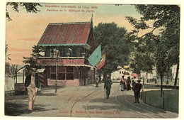 A1949[Postkaart] Exposition Universelle De Liége 1905. / Pavillon De La Fabrique De Pipes (H. Gerland) [pijpen D'Arlon] - Liege