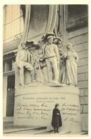 A1950[Postkaart] Exposition Universelle De Liége 1905 / Groupe De Mineurs (Nels) [entrée à Droite Wereldtentoonstelling - Liege