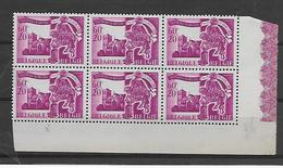 België  N° 634V Bijenzwerm Xx Postfris - Variedades (Catálogo COB)