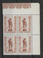 België  N° 615V Verlengde Teen Xx Postfris - Variedades (Catálogo COB)
