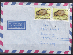 Cover To Switzerland With Mi 678 / Microperocytes Longicaudai (05512) - Papua-Neuguinea