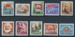 DDR 344/53 ** Mi. 28,- - Unused Stamps