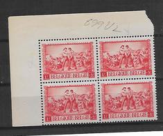 België  N° 699V2 Steen Aan Voet  Xx Postfris - Variedades (Catálogo COB)