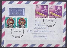 Cover To Switzerland With Mi 346 And 627 /Jew's Harp (05515) - Papua-Neuguinea