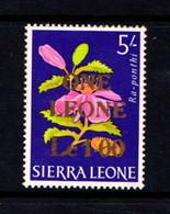 SIERRA  LEONE    1964    Decimal  Currency    1L  On  5/-    MH - Sierra Leone (1961-...)