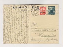 ITALY .TRIESTE A 1949 Postal Stationery To Yugoslavia - 7. Triest