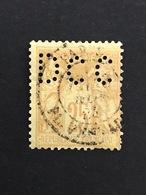 FRANCE D N°92 Sage DCC 26 Indice 6 1877/80 Perforé Perforés Perfins Perfin  Oblitéré Tres Bien !! - Perfins