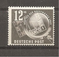 DDR Nº Yvert  D1 (MH/*) - Unused Stamps
