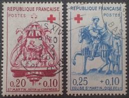 VL4380/42 - 1960 - FRANCE - CROIX ROUGE - N°1278 à 1279 ☉ - France
