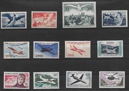 FRANCE - BEL ENSEMBLE DE POSTE AÉRIENNE DONT N°32 - COTATION 599€ - NEUFS - Airmail