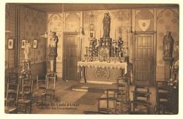 A1957[Postkaart] Collège St. Louis à Liége / Chapelle Des Congrégations (Nels, Ern. Thill) [Luik Kapel Saint Altaar] - Liege