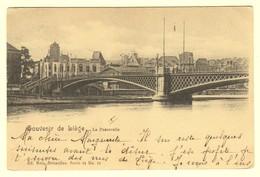 A1958[Postkaart] Souvenir De Liège / La Passerelle (Nels) [brug Le Pont Luik] - Liege