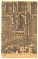 A1960[Postkaart] Liége, - Square St-Jacques, Les Abandonnés (J. Bellens) [place Rouveroy Standbeeld Statue Luik Des] - Liege