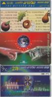 LOT 3 PHONE CARD ISRAELE (PY2501 - Israel