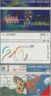 LOT 3 PHONE CARD ISRAELE (PY2503 - Israel