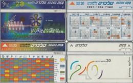 LOT 4 PHONE CARD ISRAELE (PY2500 - Israel