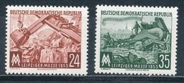 DDR 380/81 ** Mi. 7,- - Unused Stamps