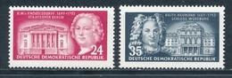 DDR 382/83 ** Mi. 5,- - Unused Stamps