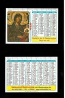 Calendarietto Sacro 2006 - Maria Ss.ma Di Montevergine ( Avellino ) - Calendars